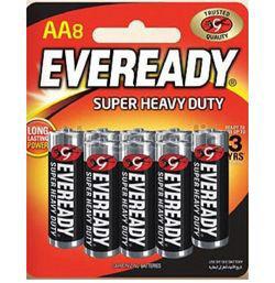 Eveready Super Heavy Duty 8AA