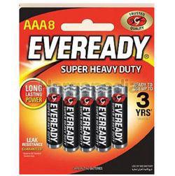 Eveready Super Heavy Duty 8AAA
