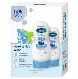 Cetaphil Baby Gentle Wash & Shampoo 2x230ml