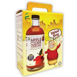 Surya Apple Cider Vinegar with Natural Honey 2x450ml
