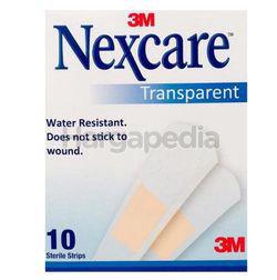3M Nexcare Transparent Bandages 10s