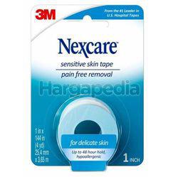 3M Nexcare Sensitive Skin Low Trauma Tape 25.4mmx3.65m 1s