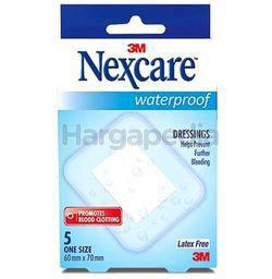3M Nexcare Waterproof Soft Cloth 6cmx8cm 5s