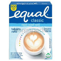 Equal Classic Tablets 500s