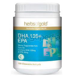 Herbs Of Gold DHA 125+EPA 120s