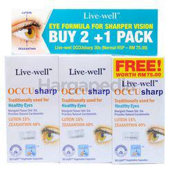 Live-Well Occusharp 2x30s+30s