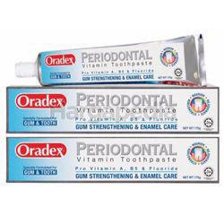 Oradex Periodontal Toothpaste 2x175gm