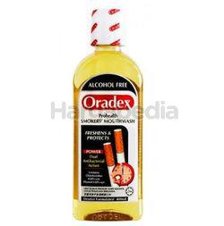 Oradex Smoker's Mouthwash 400ml