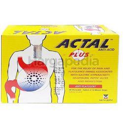Actal Plus Tablet 120s