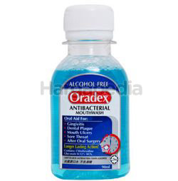 Oradex Antibacterial Mouthwash 90ml