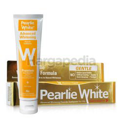 Pearlie White Advanced Whitening Toothpaste 130gm