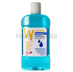 Pearlie White Fluorinze Fluoride Mouth Rinse Anti-Bacterial 750ml