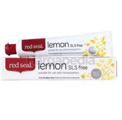 Red Seal Lemon SLS Free Toothpaste 100gm