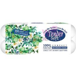 Tender Soft Bathroom Roll 2ply 10s
