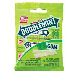 Wrigley's Doublemint Peppermint Stick Multipack 40.5gm