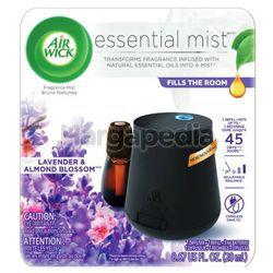 Air Wick Fragrance Mist Diffuser Starter Kit Lavender & Almond Blossom 1set