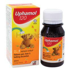 Uphamol 120mg Infant Syrup Suspension Orange  60ml