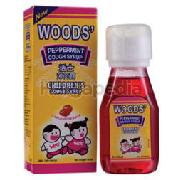 Woods Peppermint Syrup Children 50ml