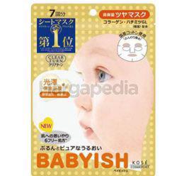 Kose Cosmeport Clear Turn Babyish Moisturizing Lustrous Mask 7s