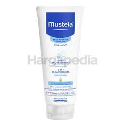 Mustela 2 In 1 Cleansing Gel Cleans & Soften 200ml