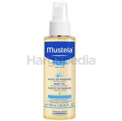 Mustela Hydra Bebe Baby Bath Oil 100ml