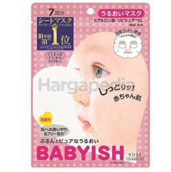 Kose Cosmeport Clear Turn Babyish Moisturizing Mask 7s