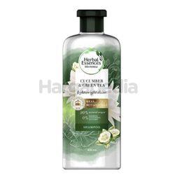 Herbal Essences Bio Renew LightWeight Shine Cucumber & Green Tea Shampoo 400ml