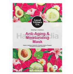 Good Virtues Co Anti-Age & Moist Mask 1s
