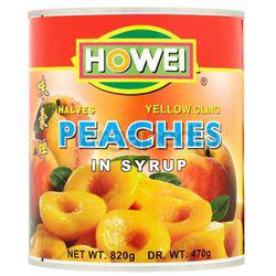 Howei Peaches Halves 820gm