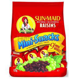 Sunmaid California Raisins Mini Snack 9s 125gm