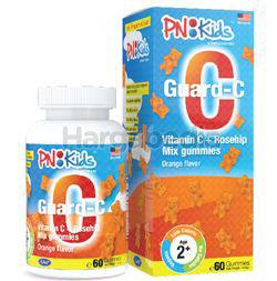 PN Kids Guard-C Vitamin C+Rosehip Mix Gummies 60s