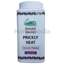 Snake Brand Prickly Heat Powder Lavender 50gm