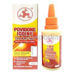 Three Legs Povidone Iodine 30ml