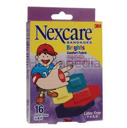 3M Nexcare Comfort Brights 16s