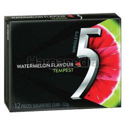 Wrigley's 5 Tempest Watermelon 12s 32gm
