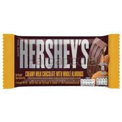 Hershey's Bar Creamy Milk Chocolate with Almond 40gm