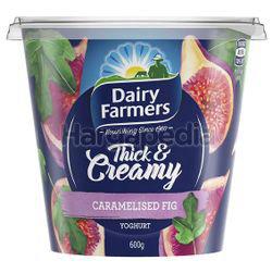 Dairy Farmers Thick & Creamy Yogurt Caramelised Fig 600gm
