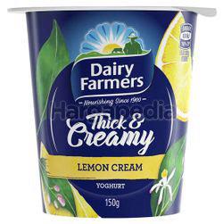 Dairy Farmers Thick & Creamy Yogurt Lemon Cream 150gm