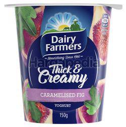 Dairy Farmers Thick & Creamy Yogurt Caramelised Fig 150gm
