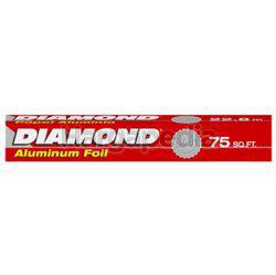 Diamond Aluminium Foil 75sqft 1s