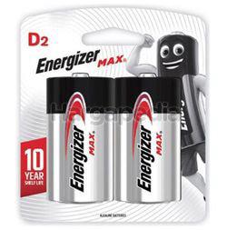 Energizer Max Alkaline Battery 2D