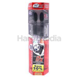 Colgate 360 Degree Charcoal Toothbrush 2s