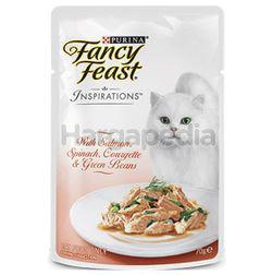 Fancy Feast Inspiration Cat Food Pouch Salmon 70gm