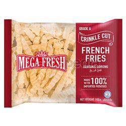 Mega Fresh Fries Crinkle Cut 1kg