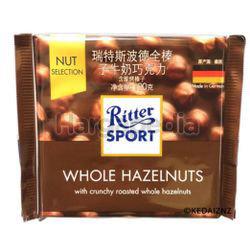 Ritter Sport Chocolate Whole Hazelnut 100gm