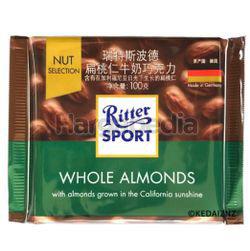 Ritter Sport Chocolate Whole Almond 100gm