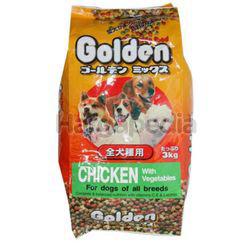Golden Dog Food Chicken & Vegetables 3kg