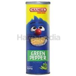 Mamee Monster Crisps Green Pepper 100gm