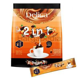 Delica 2 in 1 Ipoh White Coffee 15x25gm