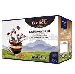 Delica DeMountain Long Black with Brown Sugar 10x20gm